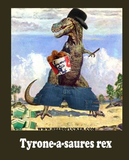 Clic en la imagen para ver su versión completa.  Nombre: Tyrone a saures rex.jpg Visitas: 269 Tamaño: 55.2 KB ID: 350