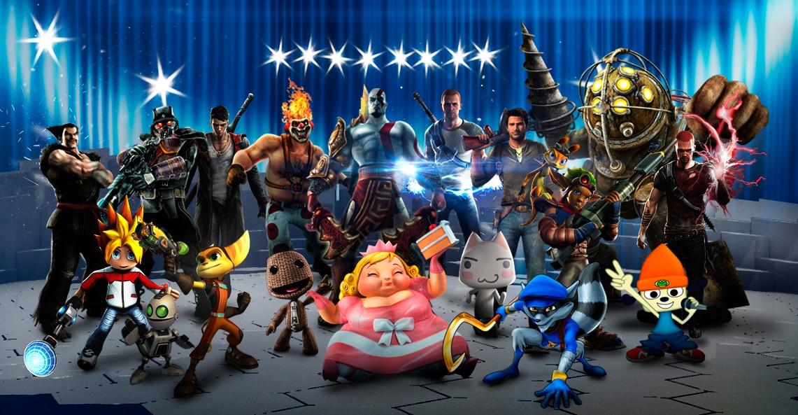 Clic en la imagen para ver su versión completa.  Nombre: PlaystationAllStarsBattleRoyale.jpg Visitas: 456 Tamaño: 226.7 KB ID: 707